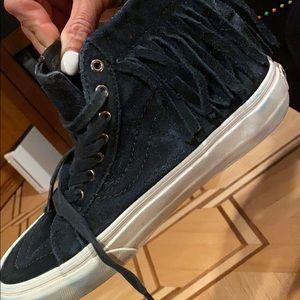 Vans Fringe black sneakers